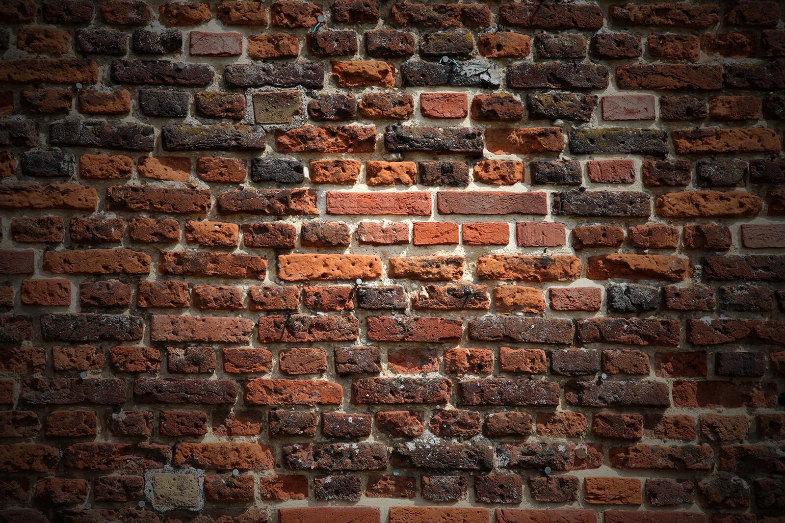 textured red brick feature background